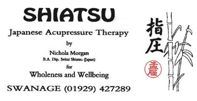 Logo for Nichola Morgan BA Dip Seitai Shiatsu (Japan)