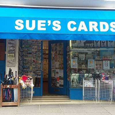 Logo for Sue's Cards