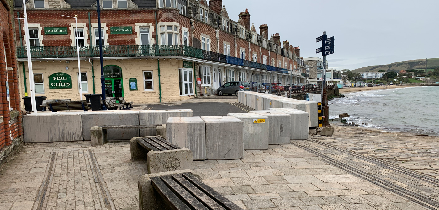 Town Square sea defences