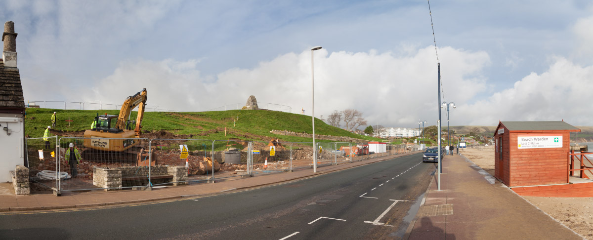Seafront Stabilisation Project From Virtual Swanage