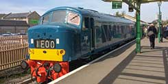 details for Swanage Railway's Diesel Gala