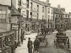 Click to view Lower High Street late 1800s