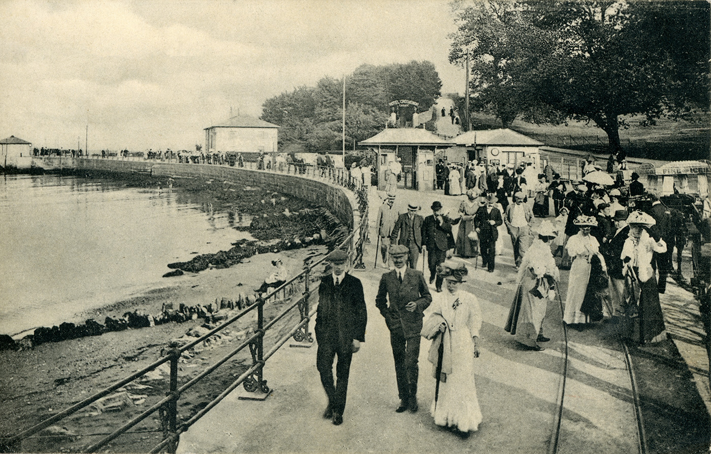 Entrance to Swanage Pier 1890