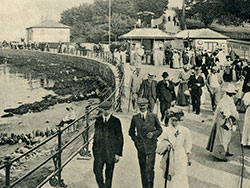 Click to view Entrance to Swanage Pier 1890