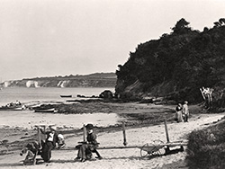 Click to view Studland Beach and Old Harry early 1900s