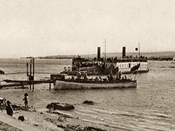 Click to view Sandbanks Ferry in the 1900s