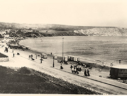Click to view Swanage beach in the 1900s