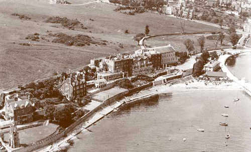 Grovenor Hotel from the air