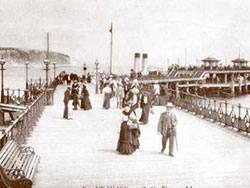 Click to view Victorian Pier and walkers