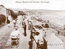 Click to view Shore Road and Swanage Beach