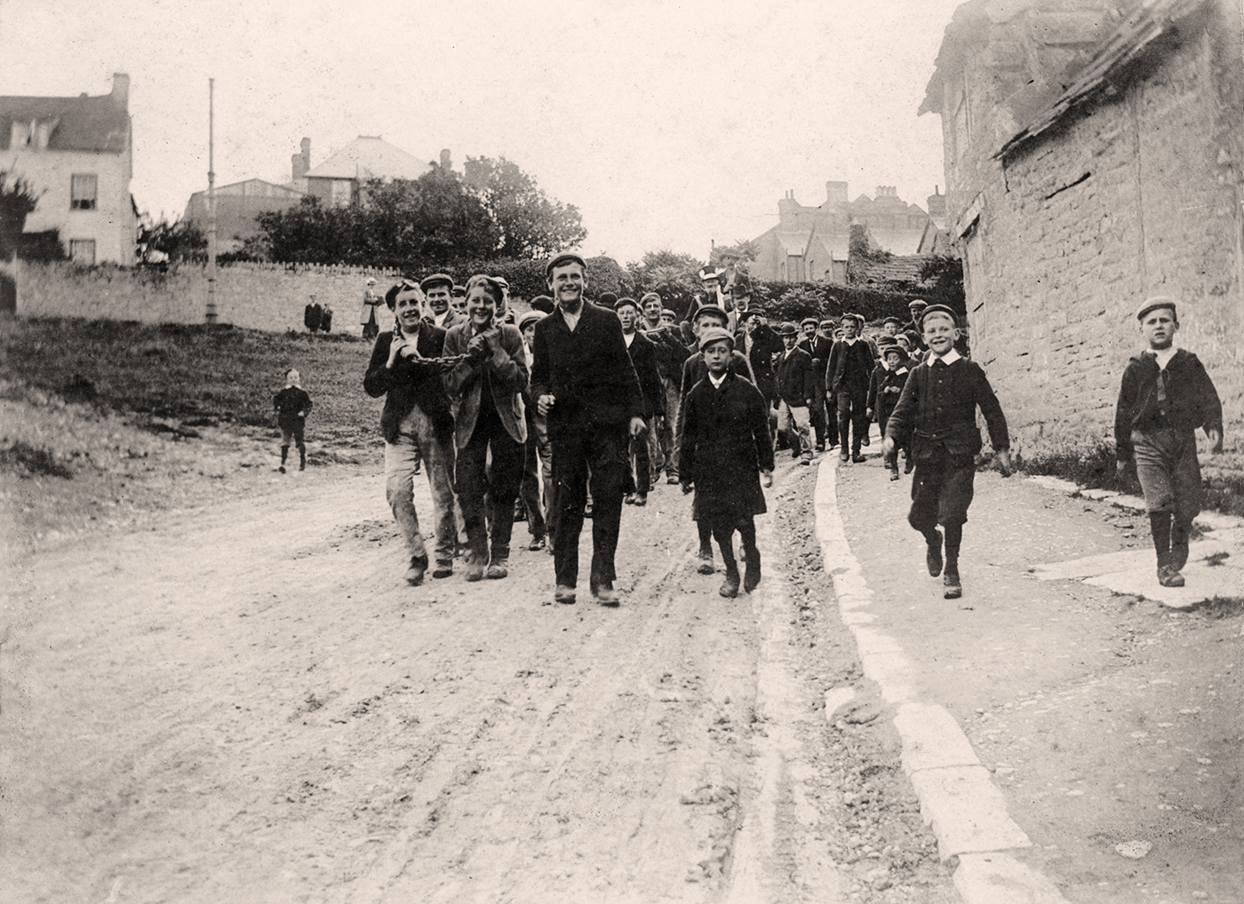 Procession in Court Hill 1904