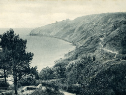 Durlston Bay and Cliff Walk 1906 - Ref: VS2033