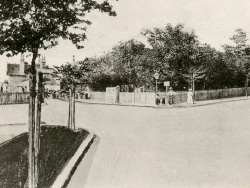 Click to view Station Road and Railway Station in 1908