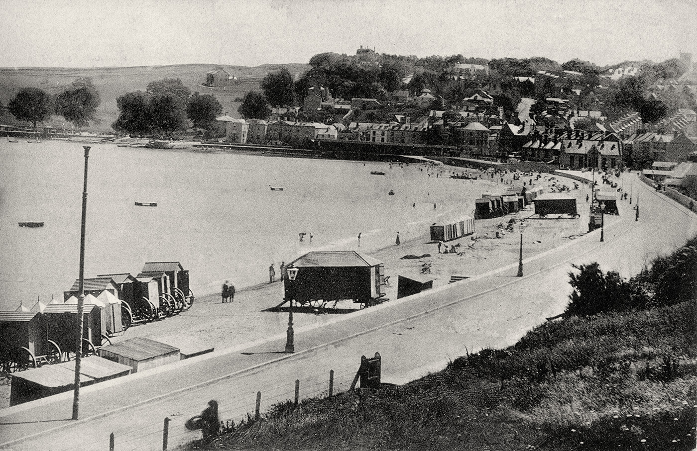 The Seafront from Sandpit Field in 1908
