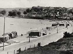The Seafront from Sandpit Field in 1908 - Ref: VS1984