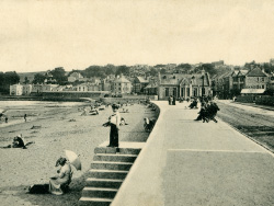 Click to view Along the promenade in 1911