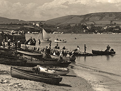 Hire Boats at the Quay 1920s - Ref: VS1992