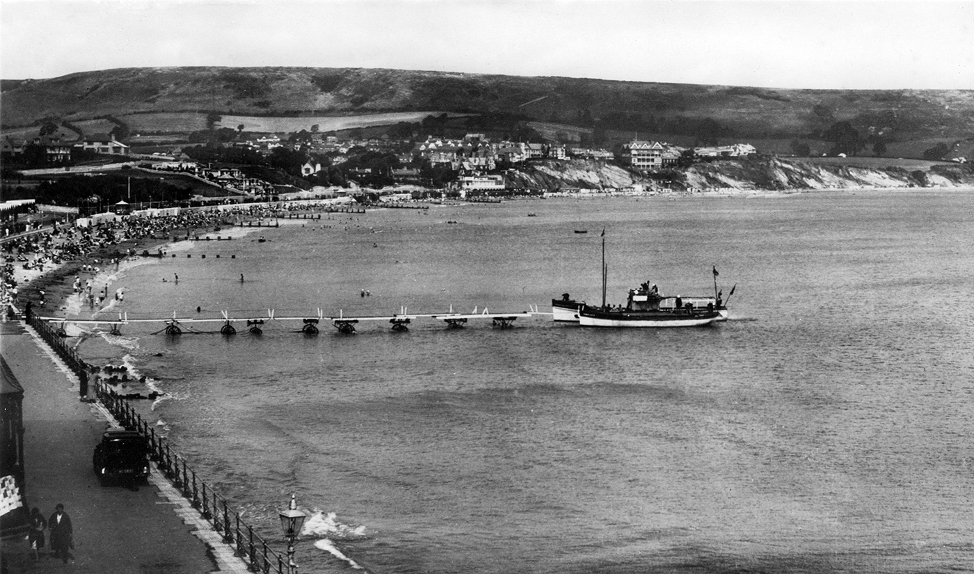Swanage Bay and Boats
