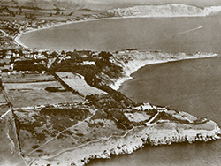 Swanage and Durlston from the air - Ref: VS1907