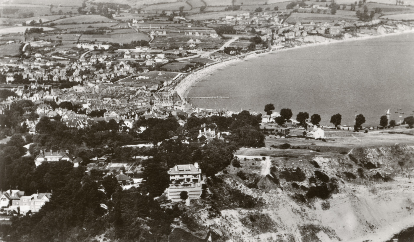 Swanage from the air