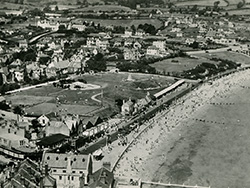 Swanage Seafront from the Air - Ref: VS1936