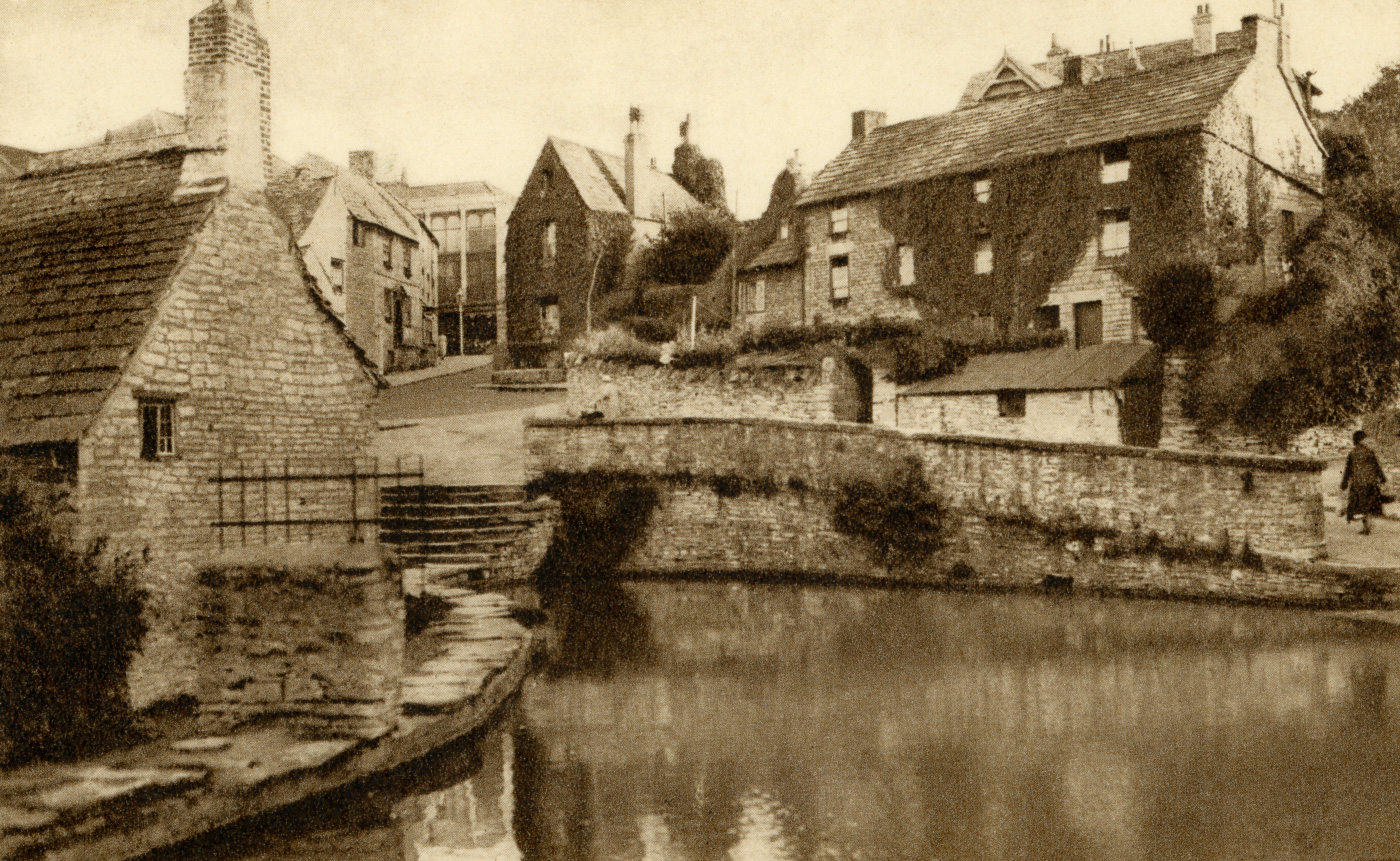 The Mill Pond and Church Hill 1950s