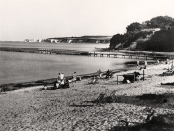 Click to view Studland Beach and passenger jetty