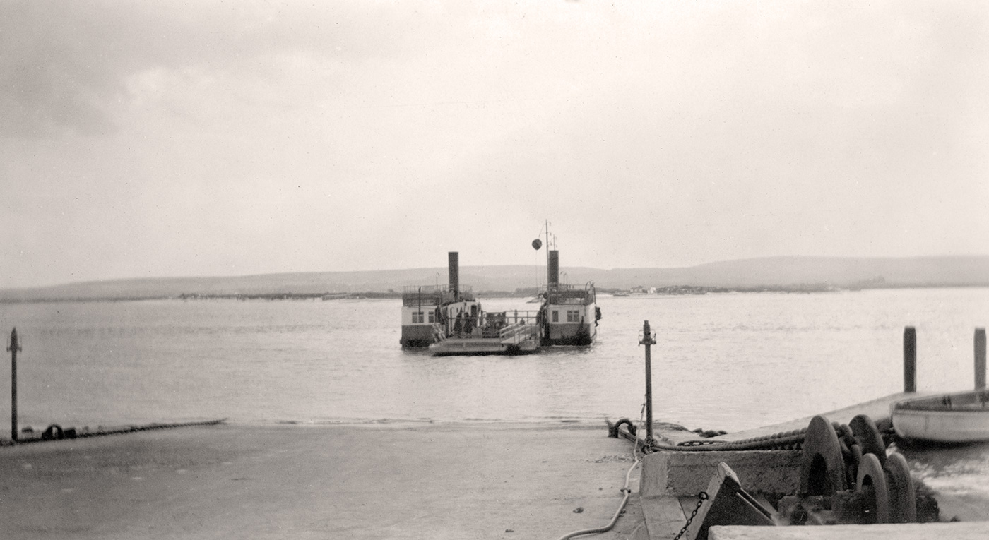 Studland Steam Ferry No 1