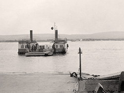 Click to view Studland Steam Ferry No 1