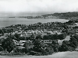 Click to view Looking across Swanage mid 1900s