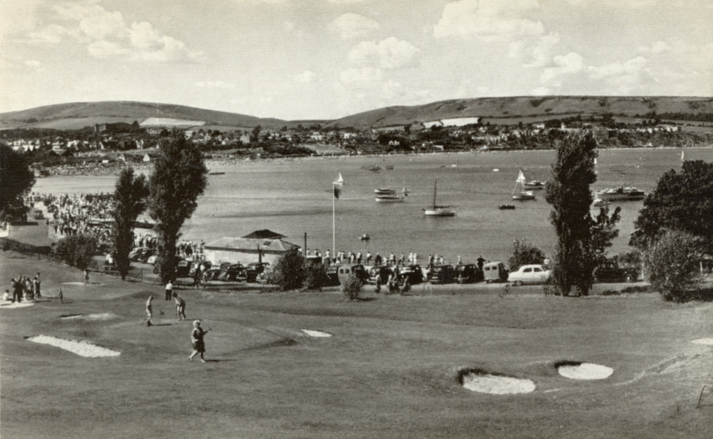 Golf Course by the Pier 1957