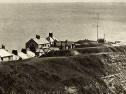 Click to view Peveril Point and radio mast