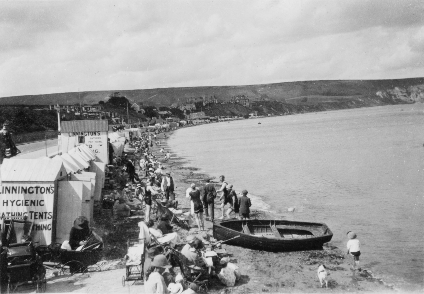 Linningtons Hygienic Bathing Tents and Beach