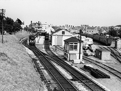 Click to view Station activity on a summer day in 1963