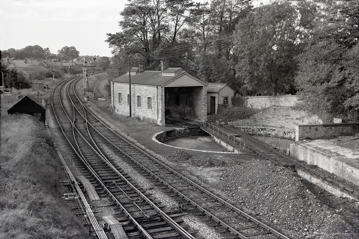 Swanage Railway Turntable in 1966