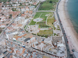 Click to view Swanage Town Centre from the air