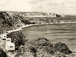 Durlston Bay 1950s - Ref: VS1896