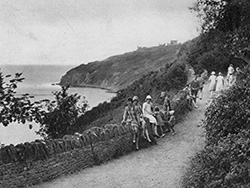 Durlston Footpath 1920s - Ref: VS1897