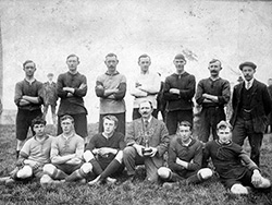 Click to view Swanage Football team early 1900s