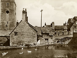 Click to view The Millpond and St Marys Church