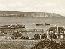 Click to view The Piers and paddle steamers