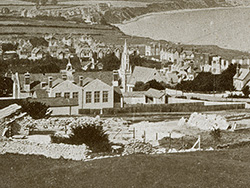 Click to view Swanage from the Quarries 1930s