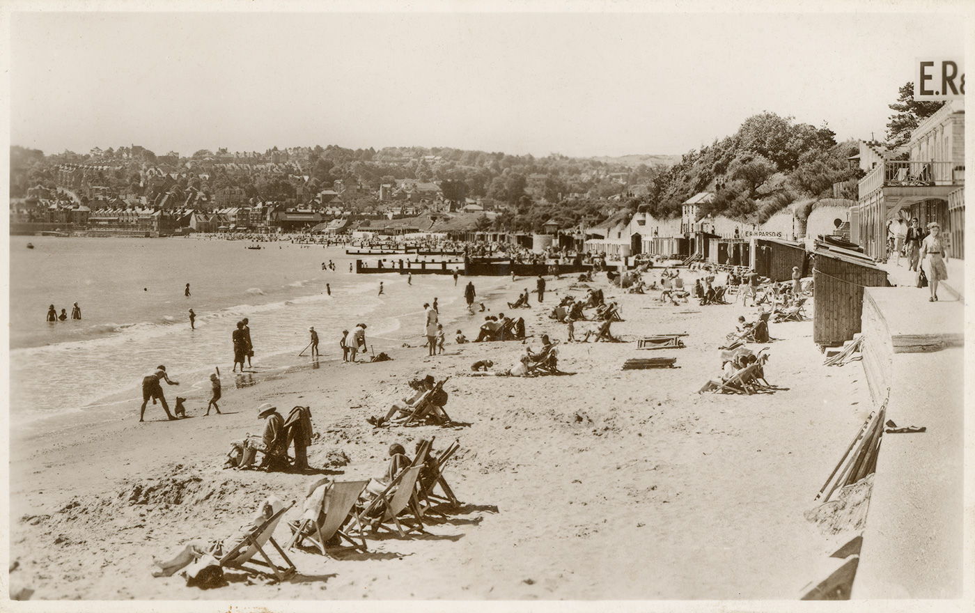 Swanage Beach 1930's
