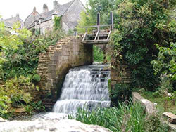 Click to view Waterfall at Corfe Castle