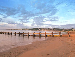 Click to view Sunrise at Swanage