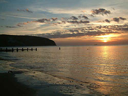 Click to view Dawn at Swanage