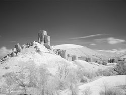 Click to view Corfe Castle Infared