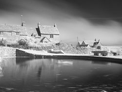 Click to view Pond at Worth Matravers Infrared