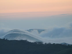 Click to view Kimmeridge Hills and Fog