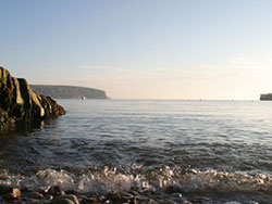 Click to view Swanage Bay at dawn